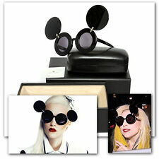 LINDA FARROW Ladies MICKEY MOUSE CELEBRITY SUNGLASSES w/ Box, Case & Tag