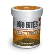 Fluval Bug Bites Aquarium Fish Tank Goldfish Formula Fish Food 45g NEW & SEALED