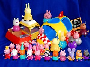 PEPPA PIG ASSORTED FIGURES VEHICLES - Please select from list:-