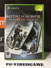 MEDAL OF HONOR EUROPEAN ASSAULT , XBOX