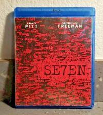 Se7En (Blu-ray) Brad Pitt, Morgan Freeman Ln
