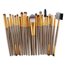 22 piezas kabuki maquillaje brochas SET BASE Colorete Rostro para polvo NUEVO