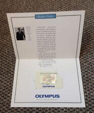 neu und unbenutzt, für Sammler, Telefonkarte Olympus Dialog,  6 DM