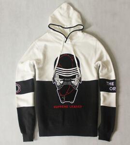 Kylo Ren Supreme Leader Oversized Pullover Hoody Star Wars RARE