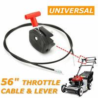 Garden Grass lawnmower Trimmer throttle clutch choke cable Throttle Fixing Lever