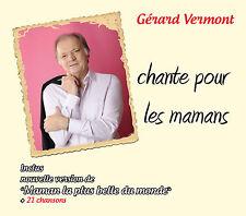 CD Gérard Vermont chante pour les mamans (+ Luis Mariano & Marino Marini)