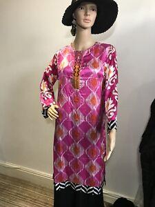 Original Nishat Pure Silk Size S Kurti Kurta Agha Noor Maria B Khaadi Asim Jofa