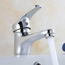 Waschbecken Wasserhahn Chrom Badzimmer Mischbatterie Einhebelmischer Armatur DE