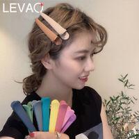 4pcs Girls Colorful Hairpin Barrettes Hair Clip Duck Clip Claws Hair Accessories
