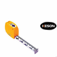 Keson Pr-610 Builder's-Engineer&# 039;s Steel Pocket Rod in Feet & Tenths
