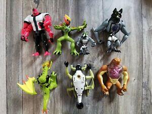 Ben 10 omniverse figure x 7  Alien Force  Bundle Job Lot