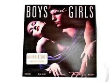 "BRYAN FERRY  ""Boys and Girls"" 1985 E.G Records / Polydor (825 659-1)"