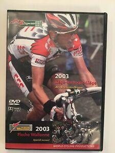 2003 Liege Bastogne Liege  &  Fleche Wallonne   2 DVD set  Tyler Hamilton CSC