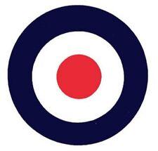 150mm Mod / RAF Roundel AUTOADESIVO PER SCOOTER / The Jam VENTOLE