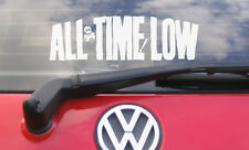 "8"" ALL TIME LOW Vinyl Car Sticker/Decal- music CD t shirt label"