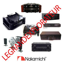 Ultimate  NAKAMICHI  Operation Repair Service manual      385 PDF manuals on DVD
