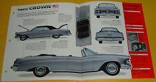 1963 Chrysler Imperial Crown Convertible 413 ci 315 hp IMP Info/Specs/photo 15x9