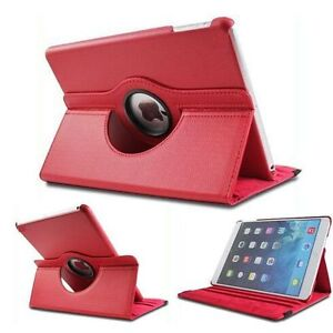 Housse Etui Coque Protection Support Tablette Ipad Mini - Rouge