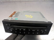 03 PEUGEOT 206 LX CD PLAYER STEREO , NEEDS CODING