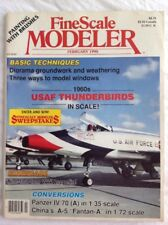 FINE SCALE MODELER February 1990 V8#2 USAF Thunderbirds - FREE shipping.