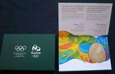 Orig.Teilnehmermedaille Olympische Spiele RIO DE JANEIRO 2016 / in BOX ! RARITÄT