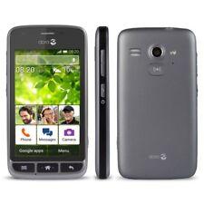 New Doro Liberto 820 Mini Black 3G Android Smartphone Easy ToUse Unlocked Phone