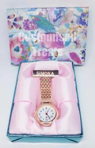 Personalised Nurse Gift, Medical Graduation Thank you Gift Engraved Nurse Watch