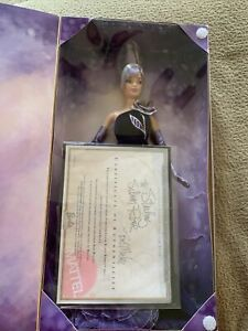 NIB W/ COA!-2001 The Sterling Silver Rose Bob Mackie Barbie Doll. Collector Edit