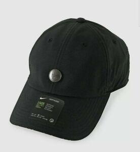 Nike Air Heritage 86 Dri-Fit Strapback Adjustable Black Women's Hat CQ9218-010