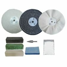 "Pro-Max Steel & Stainless Steel Metal Polishing Buffing Kit 9pc 6"" x 1"""