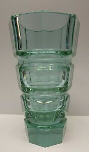Antique purple green? Art Deco Glass vase attributed to Josef Hoffmann for Moser