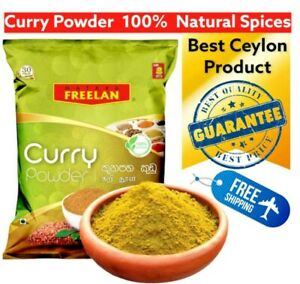 Curry Powder Sri Lanka 100% Natural freshness Traditional Recipe Freelan Matara