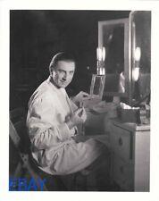 Bela Lugosi at make-up table RARE Photo