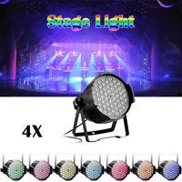 4 X160W RGB Sound LED Light PAR DMX512 Disco DJ Party Club Stage Show Lighting