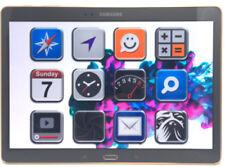 Samsung SM-T800 Galaxy Tab S 10.5 Gray *gut* 16GB WLAN/WiFi Tablet (N46636)