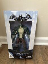 KILLER CROC Batman Arkham Origins Series 2 DC Collectibles Deluxe Figure 10 Inch