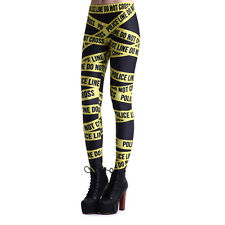 Women Yoga Gym Pants 3D Gothic Leggings Fitness Jogging Stretchy Trousers Skinny