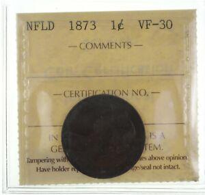 1873 Newfoundland 1 Cent *2511