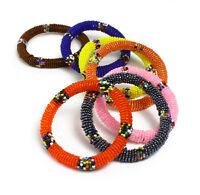 Maasai African Beaded Bracelets - Round | Jewelry For Women
