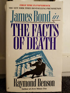 James Bond The Facts Of Death by Raymond Benson Paperback 1999