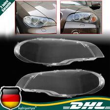 ABS Vorne Scheinwerferglas Streuscheibe Rechts & Links Für BMW X5 E70 2008-2013