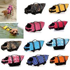 Dog Life Jacket Pet Safety Clothes Vest Dog Swimwear Pet Aquatic Reflective Vest