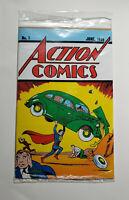 ACTION COMICS #1 LOOT CRATE EXCLUSIVE REPRINT 1ST SUPERMAN UNOPEN W/ COA