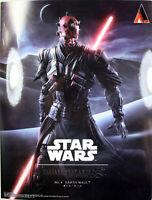 "Star Wars ~ 10"" DARTH MAUL ACTION FIGURE ~ Play Arts KAI ~ 100% Authentic"