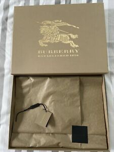 Burberry Empty Box Brown / Gold