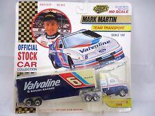 1992 #6 MARK MARTIN,S 1/87 VALVOLINE RACING TRANSPORTER