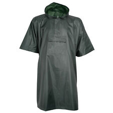 PERCUSSION OLIVE GREEN RAINPROOF PONCHO - Emergency Hiking Festival Camping