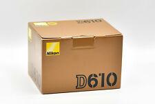 Nikon D D610 24.3 MP SLR-Digitalkamera - Schwarz (Nur Gehäuse) NEU OVP