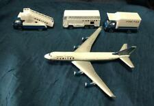 Realtoy Diecast United Airline Airplane, Bus, Stair Truck and Box Truck