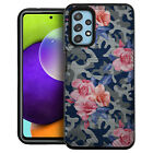 Case For [Samsung Galaxy A32][EMBOSSED DUO SET16] Dual Layer Floral